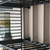 Azek Decking with Aluminium railing stair case
