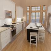 Kitchen Cad rendering